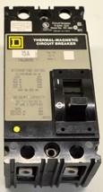 Square D FAL26015 2-Pole Circuit Breaker 15 Amp 600 VAC - $19.99