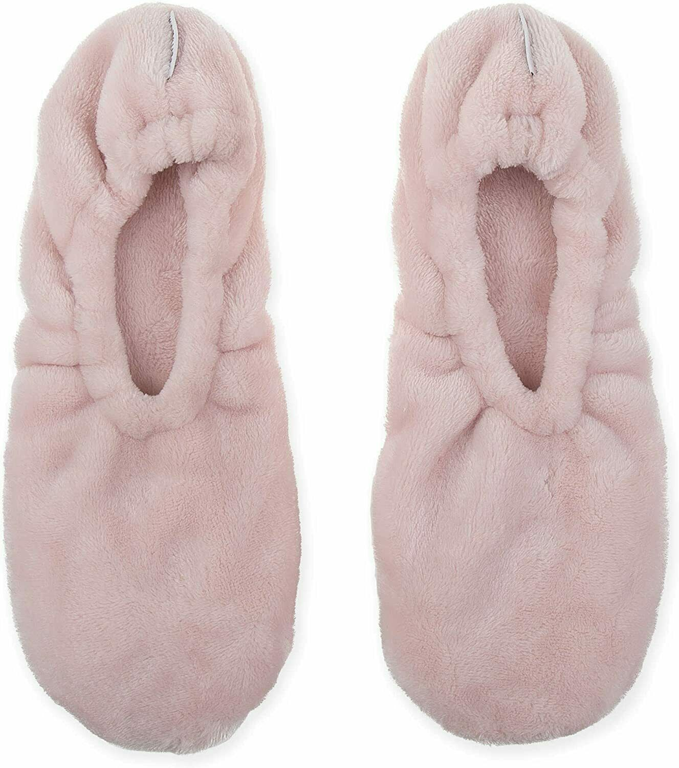 Primary image for Wamsutta Ultra Plush Memory Foam Footies Slippers One Size Fits Most Pink