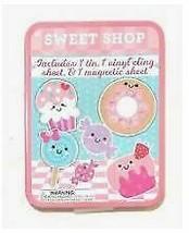 Magnetic Sweet Shop Play Scene Tin Box Play Set Toy Tic Tac Toe    by Horizon