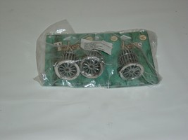 3 pack Antiqued Silver 3D Birdcage Bead Drop Pendant Swinging Moving Bir... - $5.83