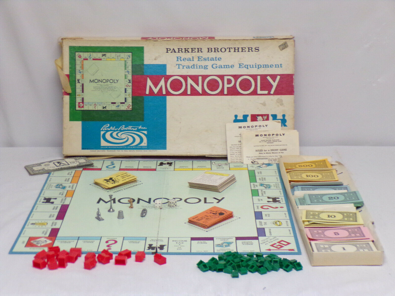 Primary image for ORIGINAL Vintage 1978 Parker Brothers Monopoly Board Game