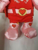 "Disney Store POOH Super Lover Love Valentine Plush Stuffed Bear 8"" image 4"