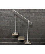 3 Foot Crown Molding Railing Handrail for Stairs | Base Plate Posts - $200.00