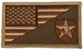 ARMY 2ND INFANTRY DESERT FLAG 2 X 3  EMBROIDERED PATCH WITH HOOK LOOP - $17.14