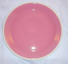 New Dansk Coconut Grove Fuchsia  Pink / Brown Serving Cake Platter Great... - $18.99