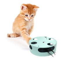 Interactive Cat Toy, Electric Smart Random Spinning Rotating Feather Cat... - £15.20 GBP