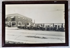 1932 antique H Frank CORBITT Inc reading pa 22x32 PHOTO frame FIXZIT CAR... - $145.00