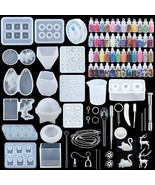 Epoxy Casting Mold UV Casting Tools kit Resin Mold For Jewelry making DIY Earrin - $14.50 - $36.88