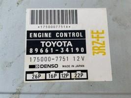 Toyota T100 4x2 A/T ECM ECU Engine Control Module 89661-34190 3RZ-FE image 2