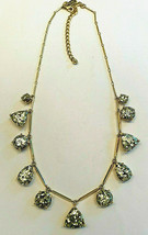 New Kate Spade New York Gold Glitter Vegas Jewels Sparkle Statement Necklace - $69.29