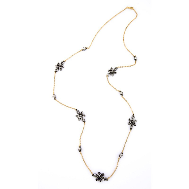 Necklace New Design Single Spring Sweater Chain Retro Women Necklace Jewelry