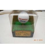 NEW HALLMARK TEE-RIFFIC DAD PAPA AWARD COLLECTIBLE FIGURINE GOLF BALL TEE - $6.92
