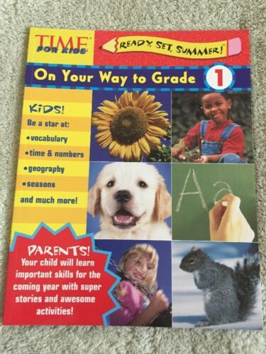 NEW Time For Kids Ready Set Summer On Your Way To 1st Grade Workbook