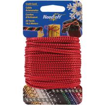 Cottage Mills Novelty Craft Cord 20yd-Metallic Red - $8.87