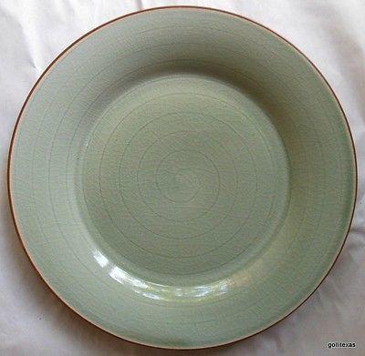 Pier 1 Peninsula Rim Dinner Plate 11  Retired Celadon Green - $25.00 & Pier One Dinner Plate: 2 listings