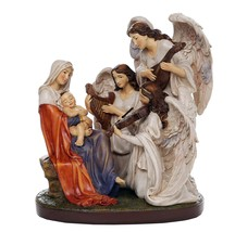 The Blessed Virgin Mary and the Song of the Angels Figurine Collectible ... - ₨3,245.71 INR