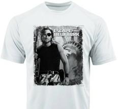 Escape New York Dri Fit Tshirt graphic printed active wear retro movie Sun Shirt image 1