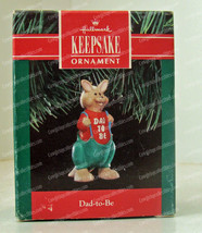 1991 Dad-to-Be Kangaroo Ornament (Hallmark, QX487-9) - $9.90