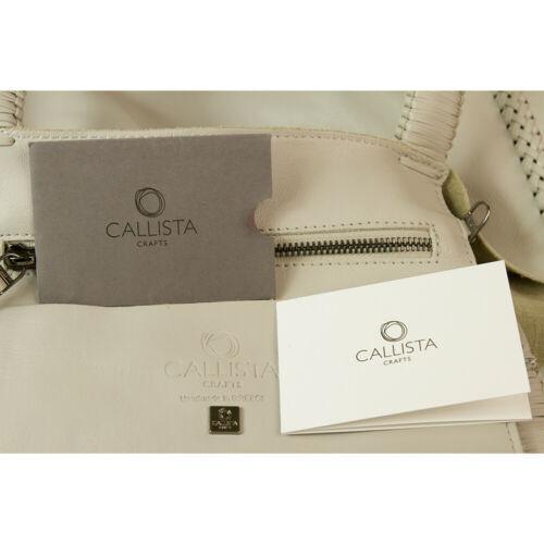 "Callista Crafts Ultra Light gray ""Ice"" color Tote Shoulder Bag Handbag Hobo image 5"