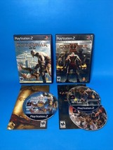 God Of War 1 And 2 Black Label Lot (Sony Playstation 2, 2005) PS2 Both Complete! - $40.51