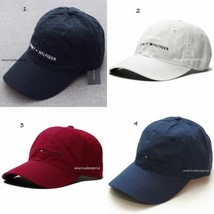 TOMMY HILFIGER NEW MEN'S BASEBALL CAP/HAT BLUE NAVY WHITE RED BLUE NICE ... - $22.13+