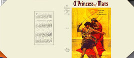 Burroughs, Edgar Rice A PRINCESS OF MARS facsimile jacket for 1st McClur... - $21.56