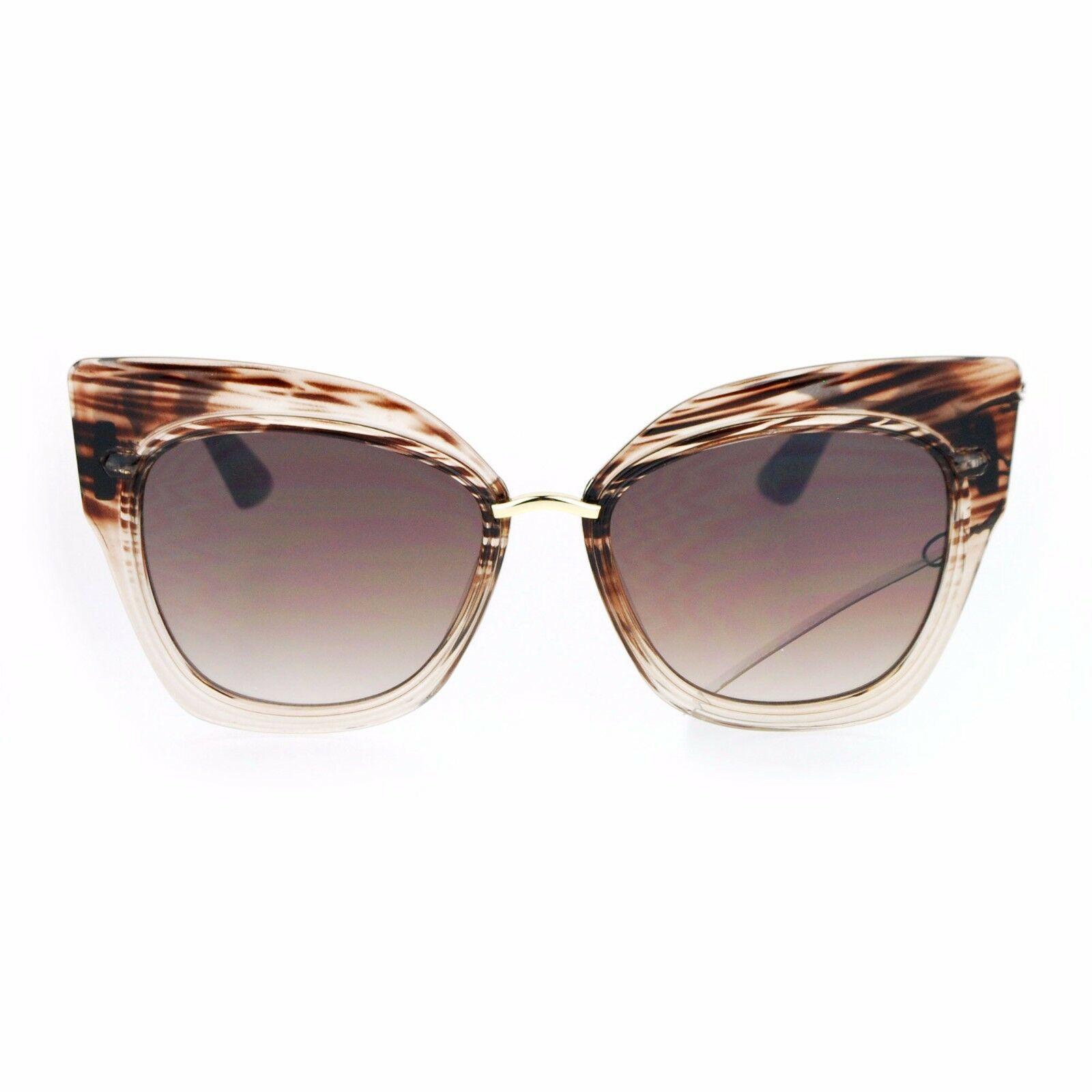 Oversized Fashion Sunglasses Womens Square Cateye Butterfly UV 400 image 14