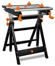 WEN WB2322 24-Inch Height Adjustable Tilting Steel Portable Work Bench a... - $84.96