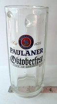Paulaner Oktoberfest  .05L SOHM German Beer Stein Town of  Addison Texas - $28.22