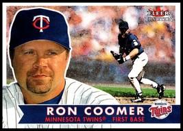 2001 Fleer Tradition #79 Ron Coomer NM-MT Minnesota Twins - $0.99