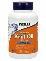 NOW Foods - Neptune Krill Oil 500 mg. - 120 Softgels - $60.86