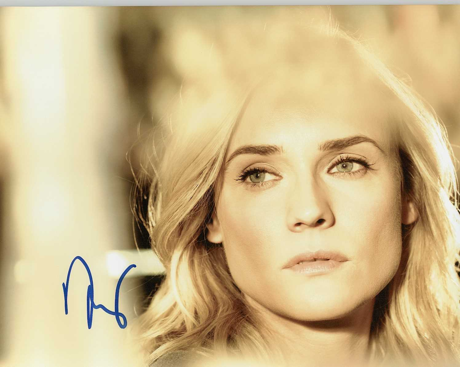 Primary image for Diane Kruger Signed Autographed Glossy 8x10 Photo