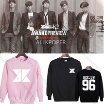 Kpop KNK Sweater Unisex AWAKE Preview Hoodie Pullover Sweatershirt Youji... - $13.99