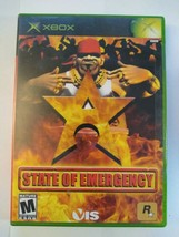State of Emergency (Microsoft Xbox, 2003)  COMPLETE   - $9.60