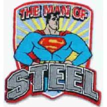 DC Comics Superman The Man of Steel 1950's Standing Figure Patch NE UNUSED - $7.84
