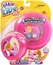 Moose Toys Little Live Pets S2 Lil' Mouse Wheel, Waffles - $24.89