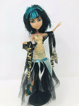Monster High Ghouls Rule Cleo de Nile Doll Complete Outfit + Stand - $24.99