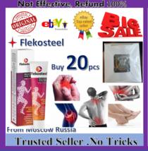 20PC FLEKOSTEEL WARMING BODY BALM rigid reliable packaging Russia 50 ml ... - $154.99