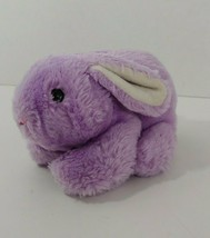 Russ Berrie plush purple bunny rabbit Hoppy vintage Korea toy stuffed an... - $11.87