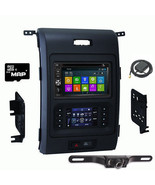 DVD GPS Navigation Multimedia Radio and Dash Kit for Ford F-150 2013-201... - $653.39