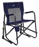 Outdoor Freestyle Rocker Portable Folding Rocking Chair Garden Patio Fur... - $72.19+