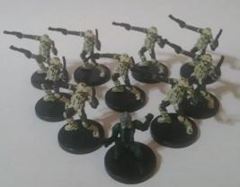 Star Wars Miniatures RARE Clone Commander Gree 33/60 - KASHYYYK TROOPER ... - $25.88