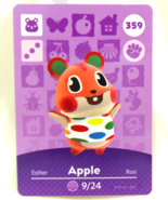 359 - Apple - Series 4 Animal Crossing Villager Amiibo Card - $39.99