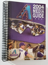 Arizona Diamondbacks 2004 Dbacks Media Guide Spiral Bound - Excellent Co... - $5.87