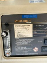 Invacare Mobilaire V w/ SensO2 Good Working Condition Model IRC50102 image 2