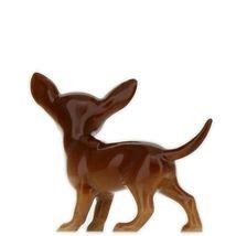 Hagen Renaker Dog Chihuahua Small Brown and White Ceramic Figurine image 7