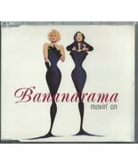 BANANARAMA - MOVIN' ON / TREAT ME RIGHT 1992 UK 4 TRACK CD SINGLE NANCD25 - $23.88