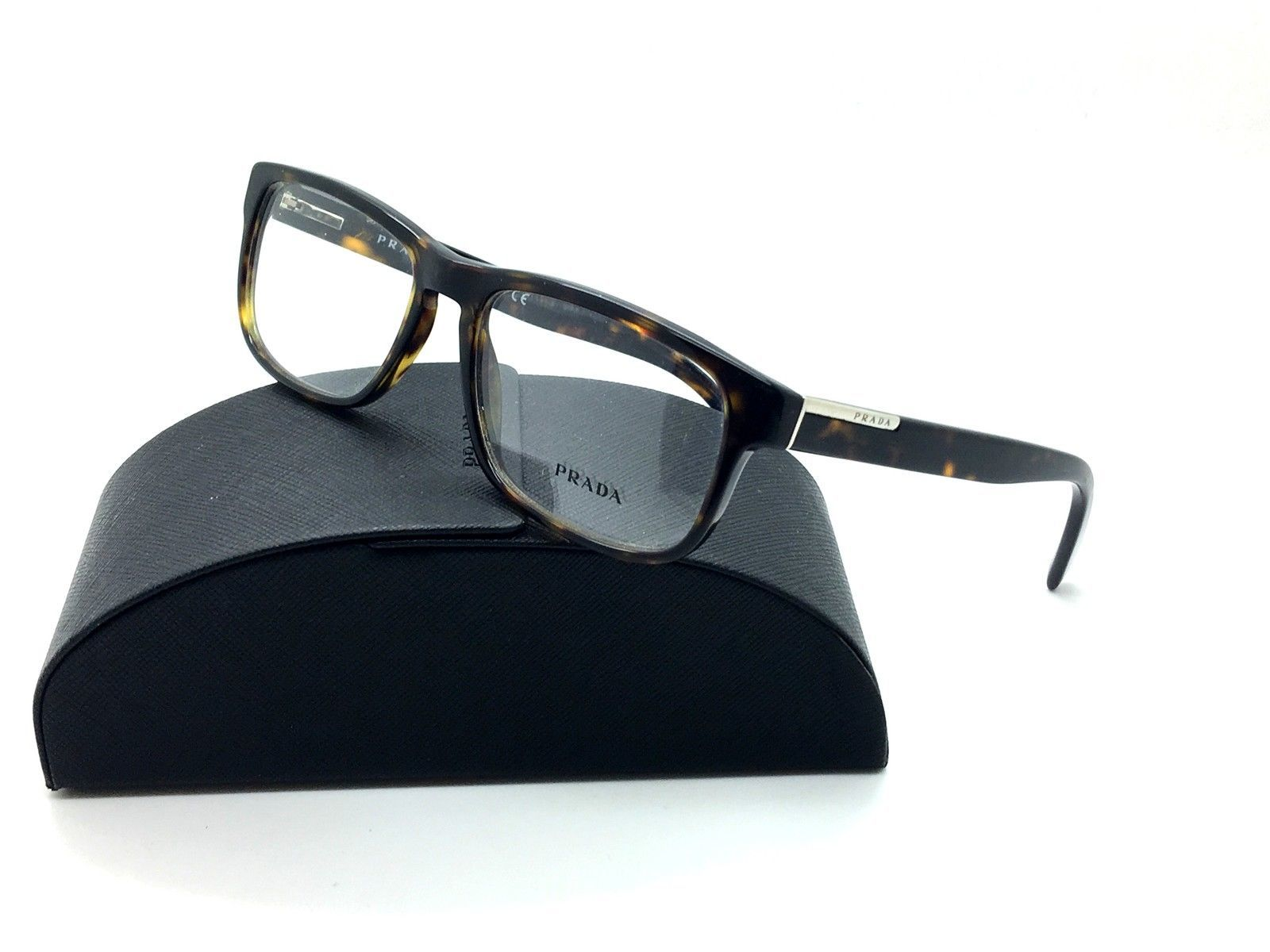4f530ae38e2f Prada Tortoise Eyeglasses VPR 07P 2AU 1O1 54 and 10 similar items
