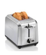 ‎ Hamilton Beach 2 Slice Toaster - Stainless Steel Wide Slots  New - $34.64