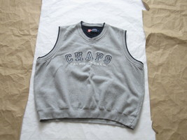 Vintage Chaps Ralph Lauren Embroidered Vest Size Large - $23.40